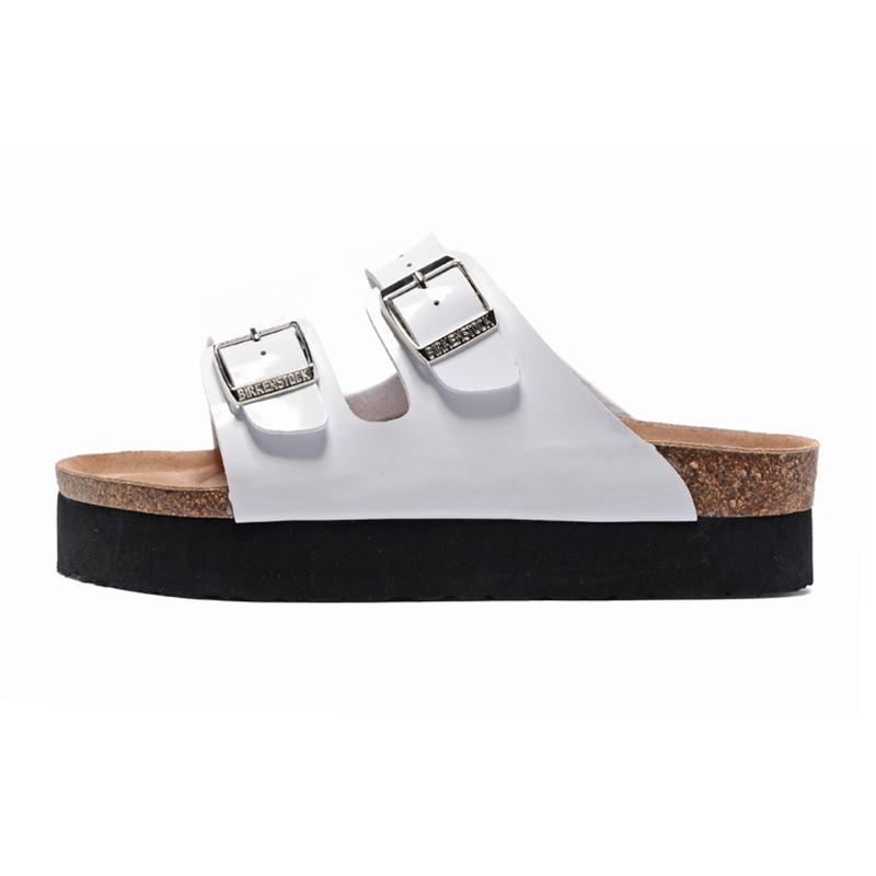 2018 Birkenstock 105 Leather Sandal White