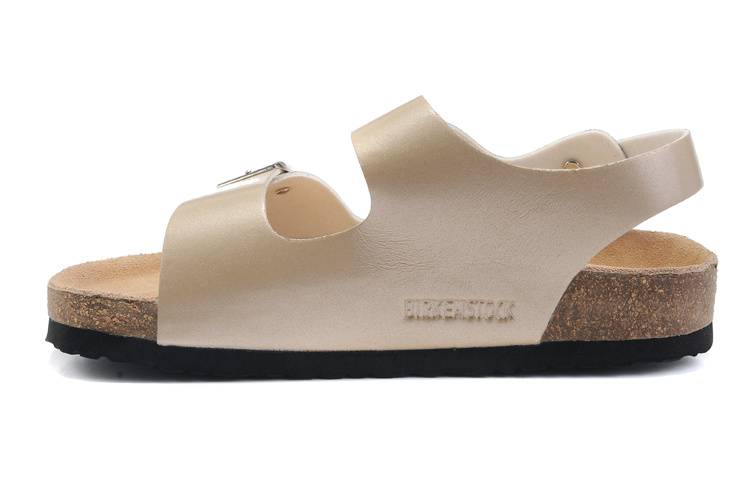 2018 Birkenstock 107 Leather Sandal Beige