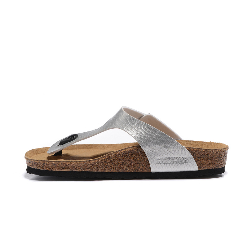 2018 Birkenstock 108 Leather Sandal Silver