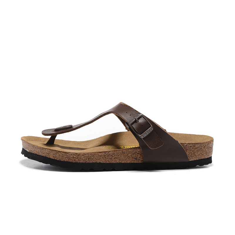 2018 Birkenstock 109 Leather Sandal coffee