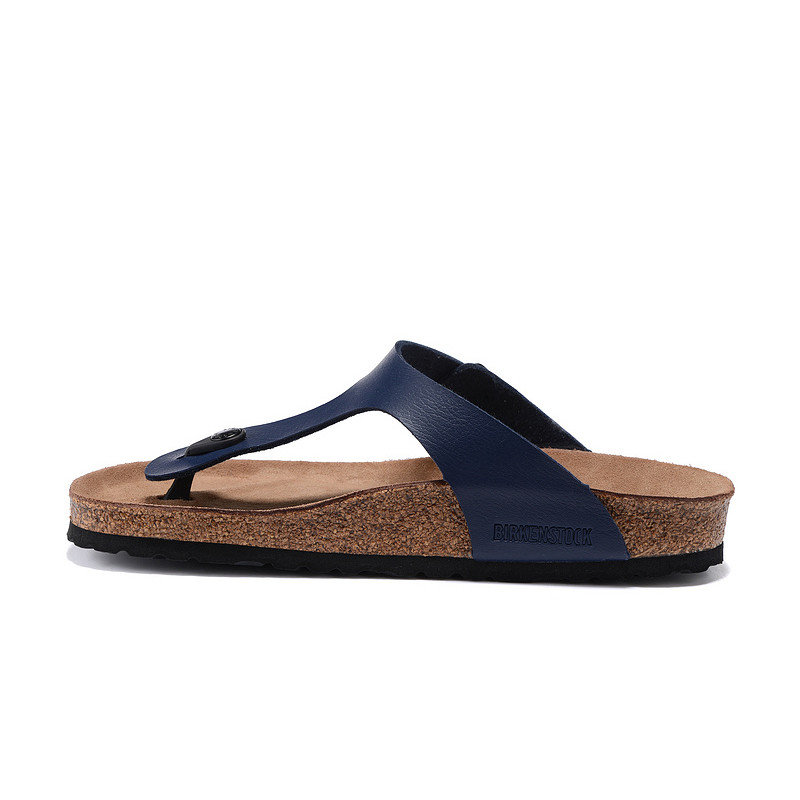 2018 Birkenstock 110 Leather Sandal Blue