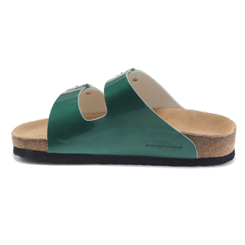 2018 Birkenstock 114 Leather Sandal Green
