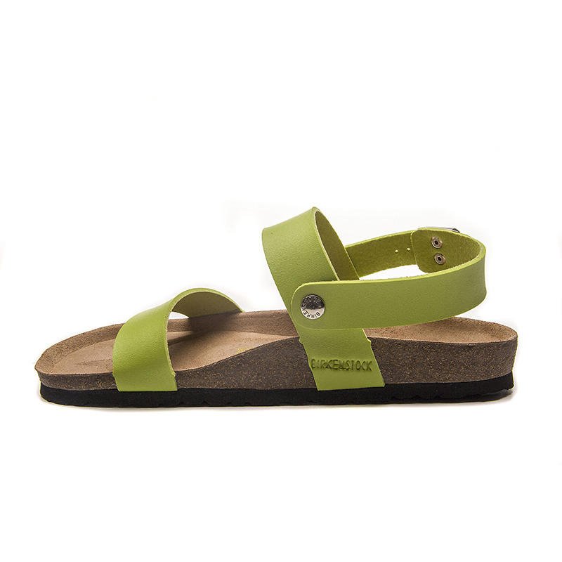 2018 Birkenstock 116 Leather Sandal Green