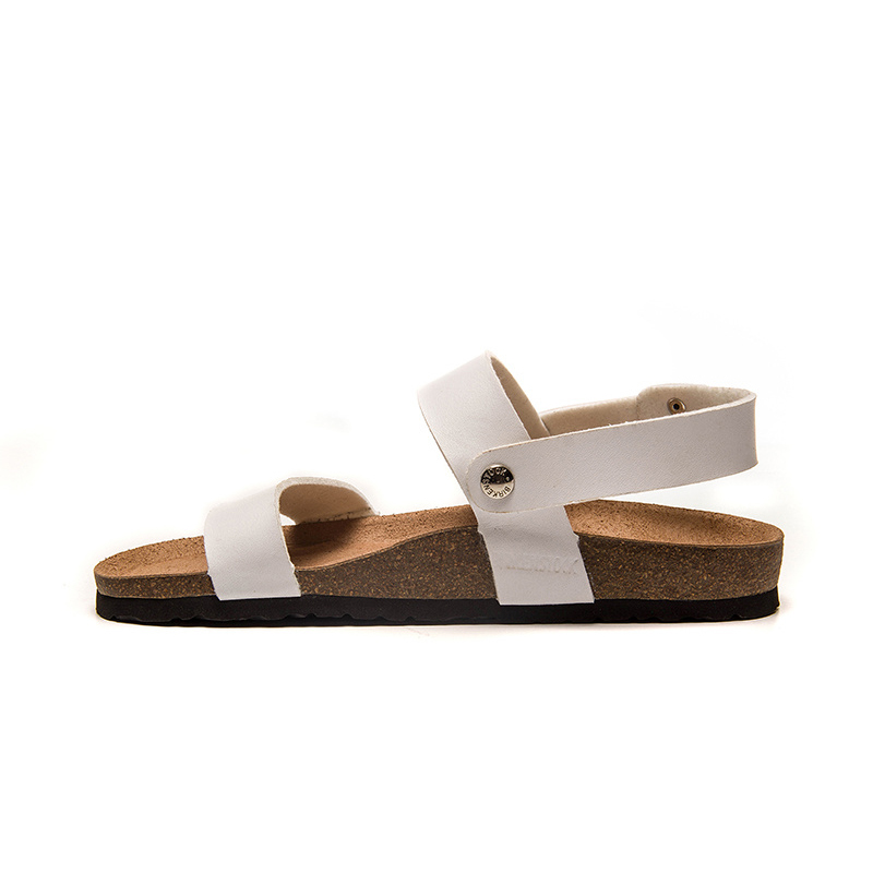2018 Birkenstock 118 Leather Sandal White