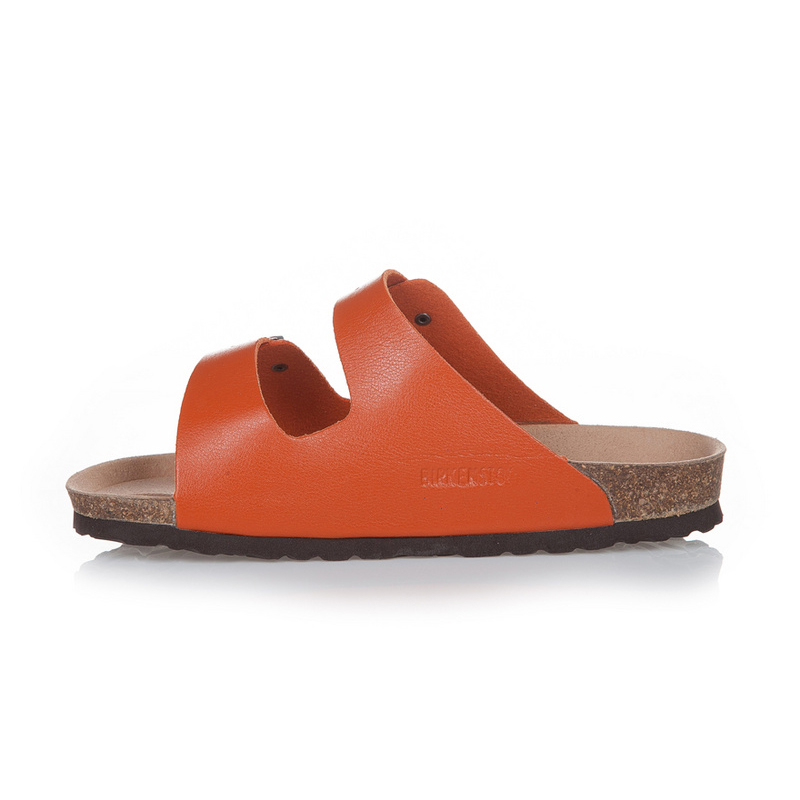 2018 Birkenstock 120 Leather Sandal Orange
