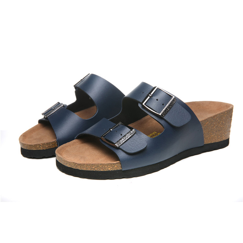 2018 Birkenstock 135 Leather Sandal blue