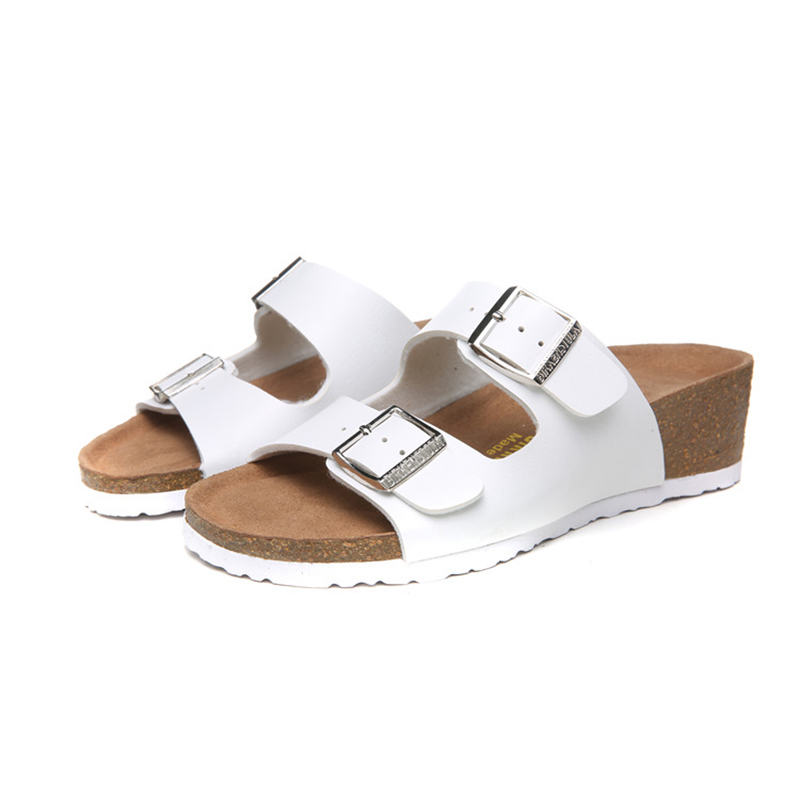 2018 Birkenstock 137 Leather Sandal white