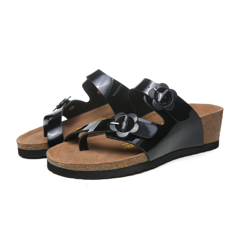 2018 Birkenstock 152 Leather Sandal black
