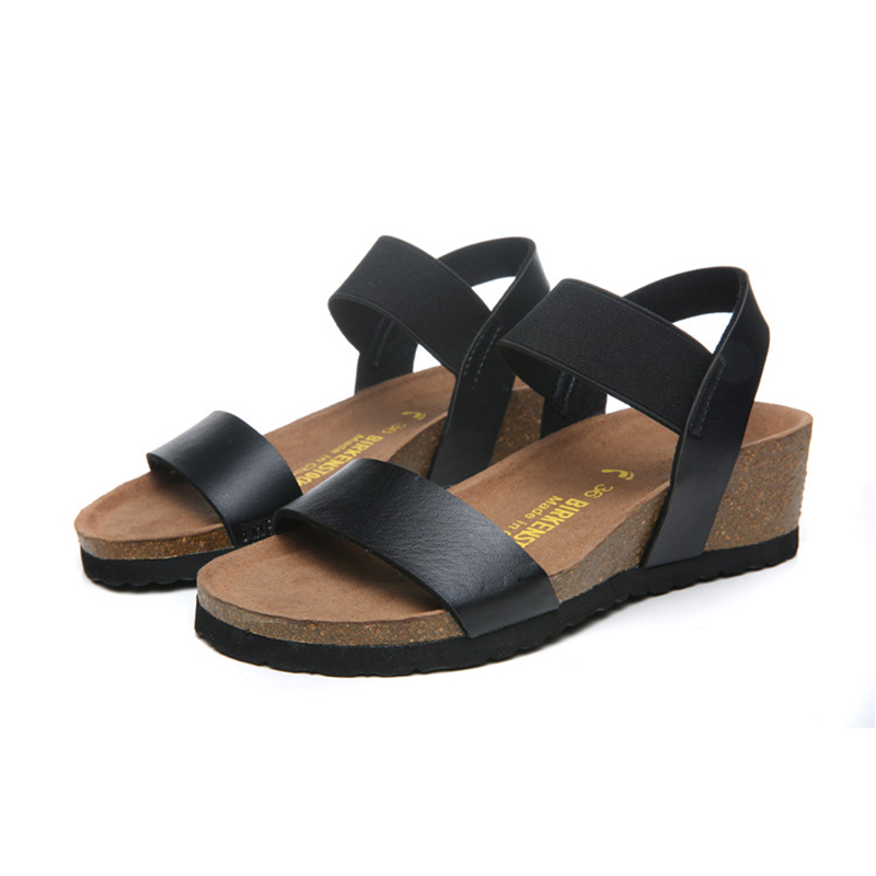 2018 Birkenstock 157 Leather Sandal black