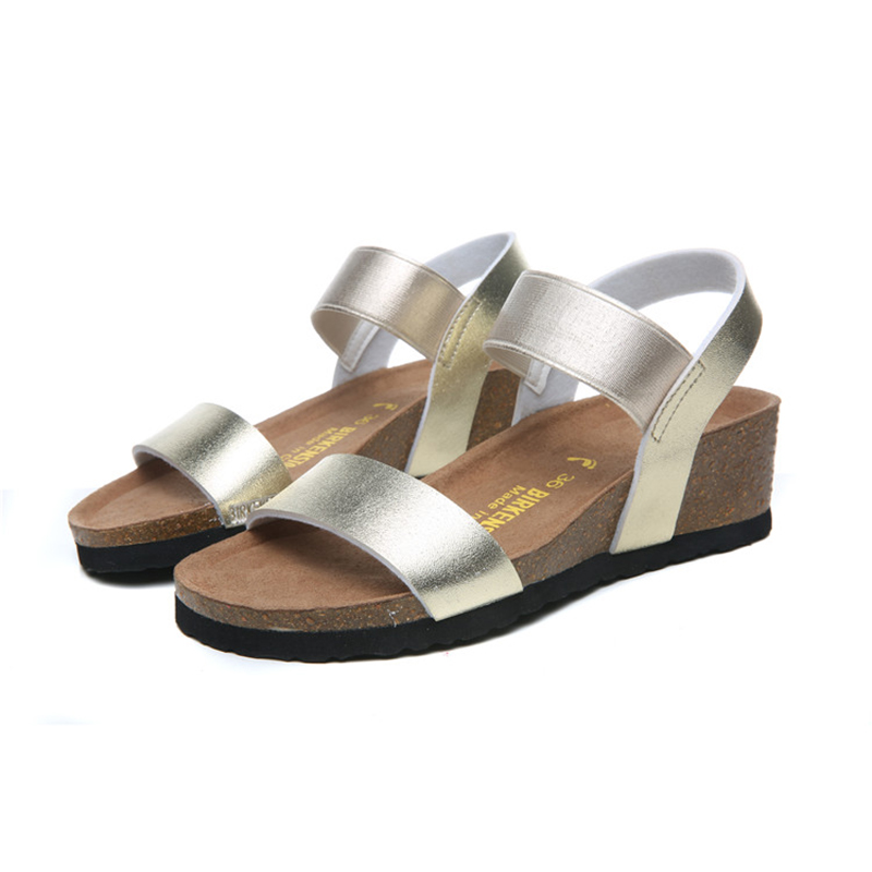 2018 Birkenstock 158 Leather Sandal gold