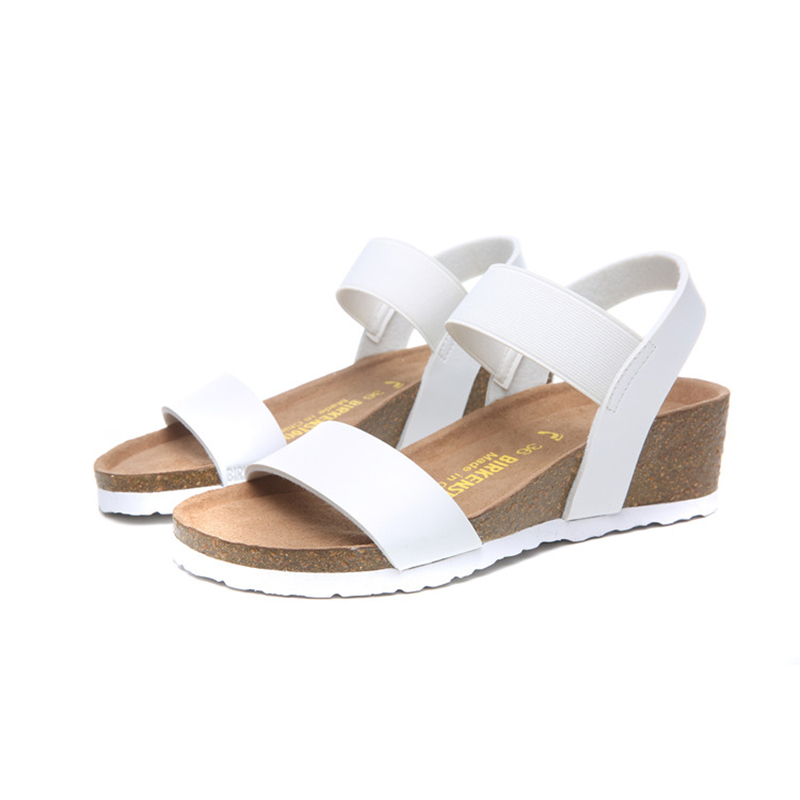 2018 Birkenstock 160 Leather Sandal white